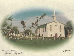 postcard of churchb